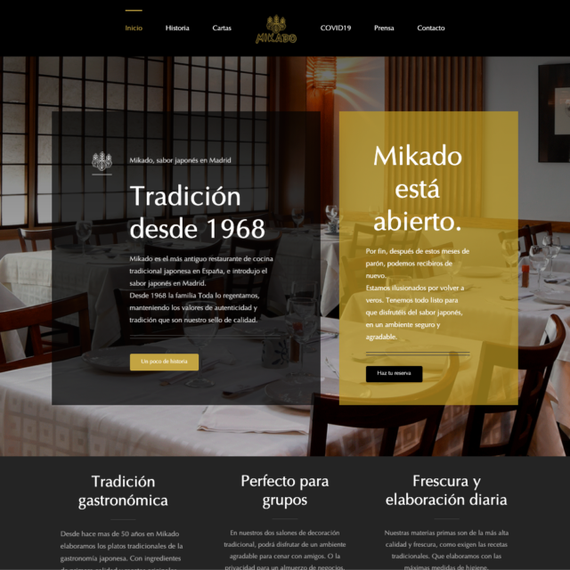 Web Mikado Madrid