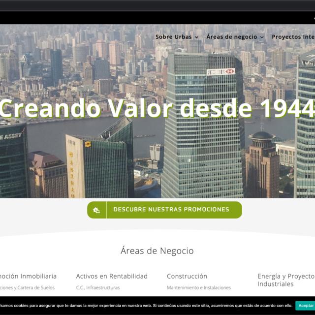 Homepage Urbas